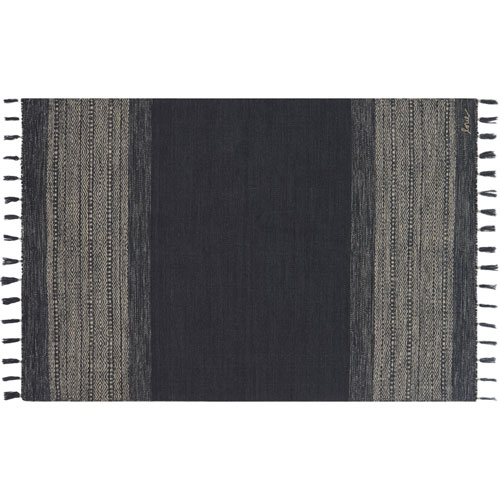 Crafted by Loloi Solano Ink Rectangle: 3 Ft. 6 In. x 5 Ft. 6 In. Rug