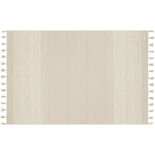 Crafted by Loloi Solano Ivory Runner: 2 Ft. 3 In. x 7 Ft. 9 In.