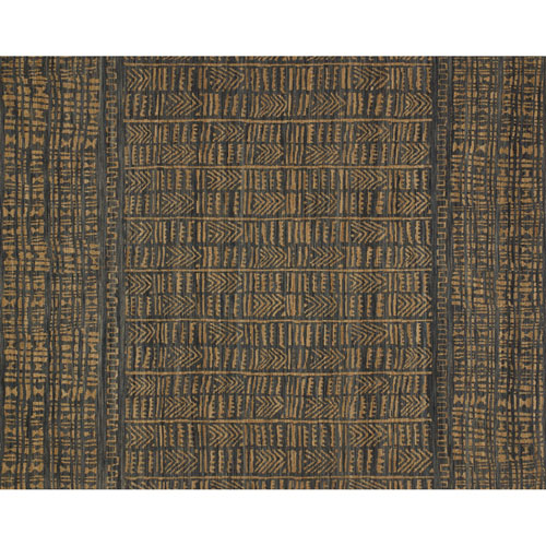 Tribu Ink Camel Square: 1 Ft. 6 In. x 1 Ft. 6 In. Rug - SAMPLE SWATCH ONLY
