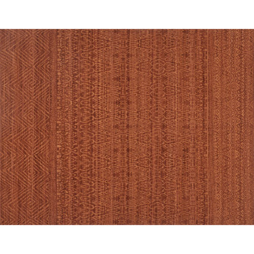 Crafted by Loloi Tribu Rust Rectangle: 7 Ft. 9 In. x 9 Ft. 9 In. Rug