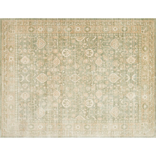 Crafted by Loloi Trousdale Sage Rectangle: 6 Ft. x 8 Ft. 8 In. Rug
