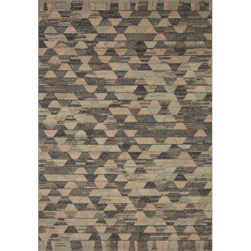 Chalos Sand and Graphite 2 Ft. 3 In. x 7 Ft. 6 In. Area Rug