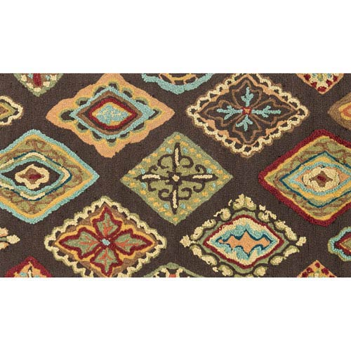Olivia Brown Rectangular: 2 Ft 3 In x 3 Ft 9 In Rug