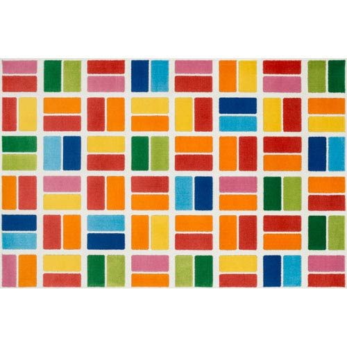 Gracie Multicolor Rectangular: 2 Ft 7 In x 3 Ft 11 In Rug