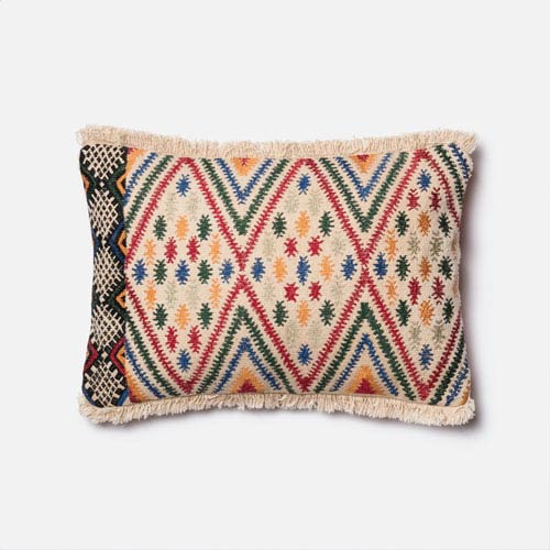 Loloi Multicolor 40 X 40 Inch Pillow With Poly Insert Gorgeous 13x21 Pillow Insert