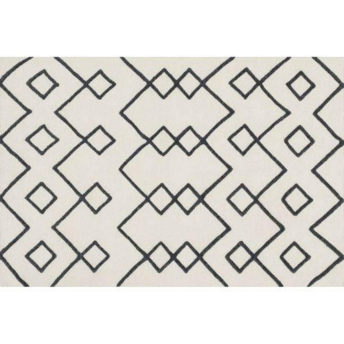 Loloi Adler Ivory Rectangular: 3 Ft 6 In x 5 Ft 6 In Rug