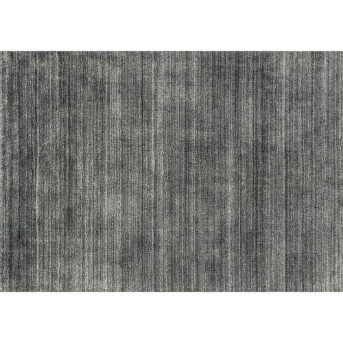 Loloi Barkley Charcoal Rectangular: 3 Ft 6 In x 5 Ft 6 In Rug