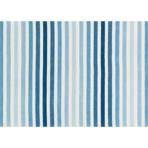 Piper Blue Rectangular: 2 Ft x 3 Ft Rug