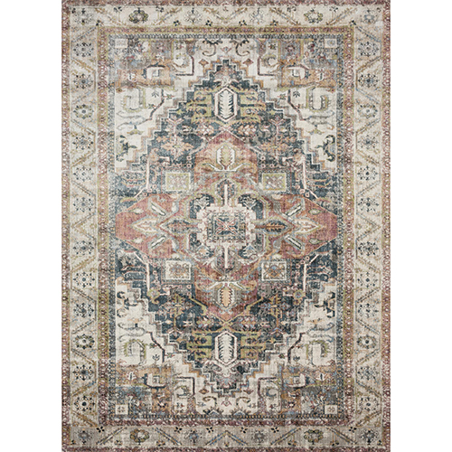 Anastasia Ivory and Multicolor Rug