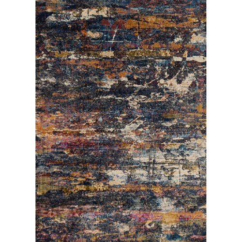 Dreamscape Multicolor Rectangular: 1Ft. 11-Inch X 3Ft. Rug