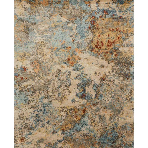 Loloi Elixir Multicolor Square: 1 Ft. 6 In. x 1 Ft. 6 In. Rug