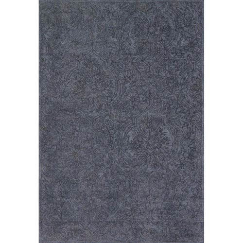 Filigree Navy Rectangular: 3 Ft. 6-Inch x 5 Ft. 6-Inch Rug
