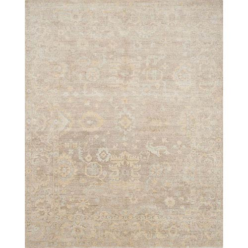 Loloi Imperial Mocha Square: 1 Ft. 6 In. x 1 Ft. 6 In. Rug