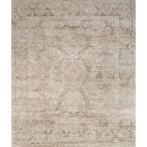 Loloi Imperial Taupe Square: 1 Ft. 6 In. x 1 Ft. 6 In. Rug