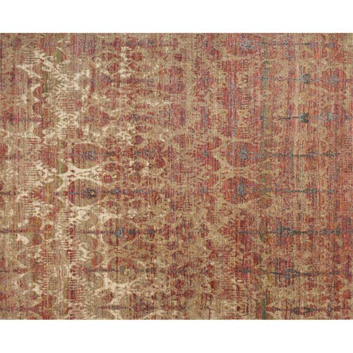 Javari Drizzle and Berry Rectangular: 2 Ft. 6-Inch x 4 Ft.