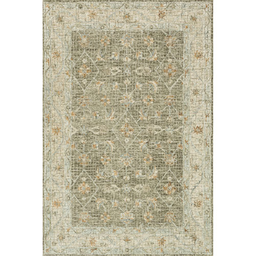 Loloi Julian Taupe and Sand Runner: 2 Ft. 6 In. x 7 Ft. 6 In.  Rug