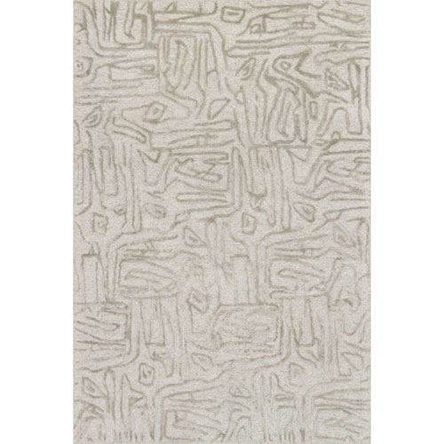 Loloi Juneau Silver Rectangular: 3 Ft. 6 In. x 5 Ft. 6 In.  Rug