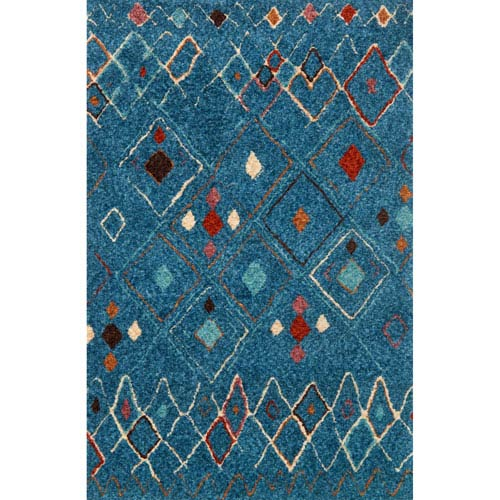Loloi Kalliope Multicolor Rectangular: 3 Ft. 6-Inch x 5 Ft. 6-Inch Rug