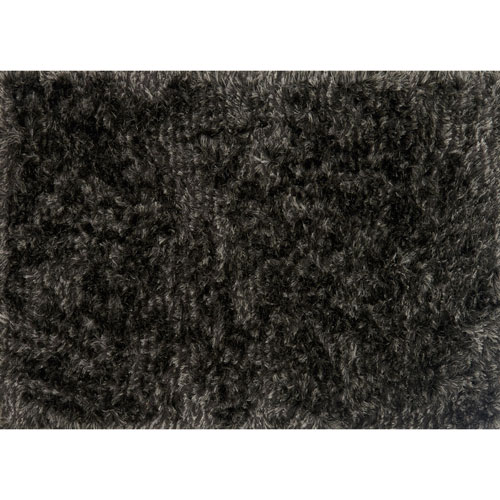 Loloi London Shag Charcoal and Silver Rectangular: 2 Ft. 3 In. x 3 Ft. 9 In. Rug