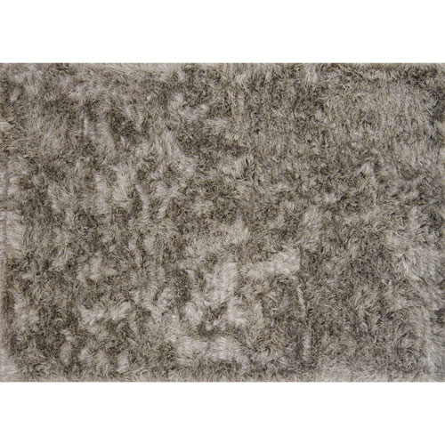 Loloi London Shag Taupe and Ivory Rectangular: 2 Ft. 3 In. x 3 Ft. 9 In. Rug