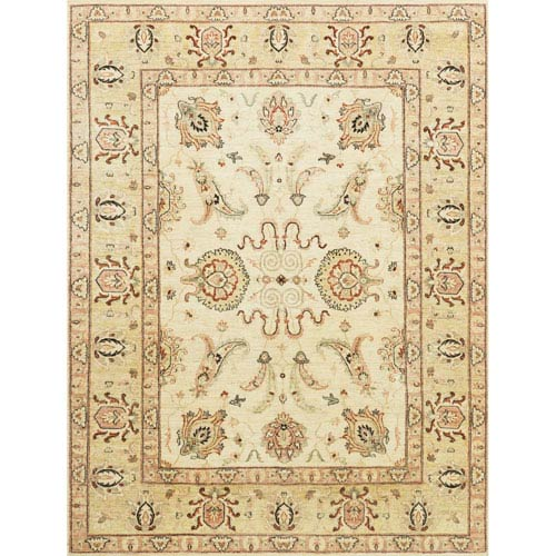 Loloi Majestic Ivory And Gold Rectangular: 2 Ft. x 3 Ft. Rug