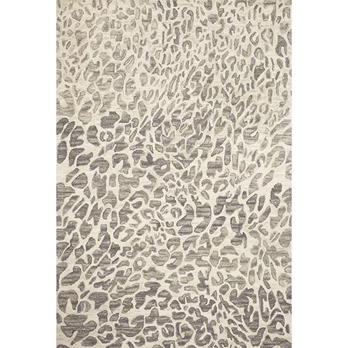 Masai Gray Rectangular: 3 Ft. 6 In. x 5 Ft. 6 In. Rug