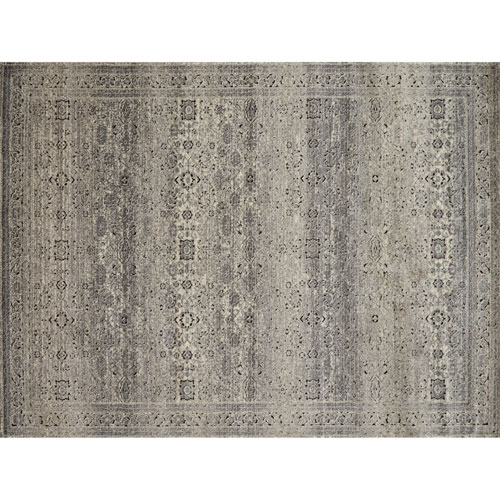 Loloi Millennium Grey and Charcoal Rectangular: 2 Ft. 7 In. x 4 Ft. Rug
