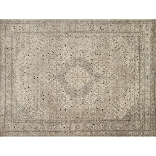 Loloi Millennium Sand and Ivory Rectangular: 2 Ft. 7 In. x 4 Ft. Rug