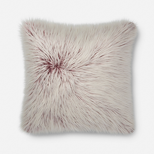 Raspberry 22 In. x 22 In. Pillow Cover