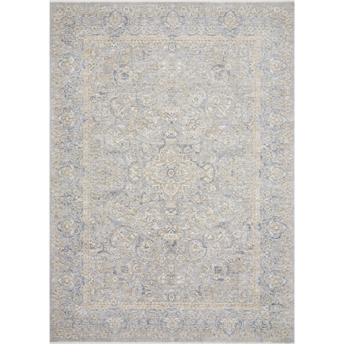 Pandora Stone and Gold Runner: 2 Ft. 6 In. x 8 Ft. Rug