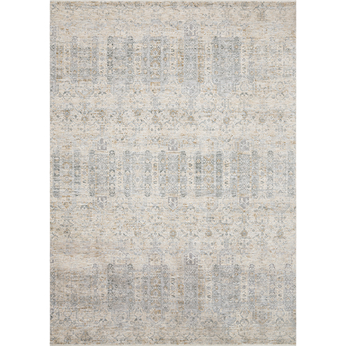 Pandora Ivory and Mist Square: 1 Ft. 6 In. x 1 Ft. 6 In. Rug