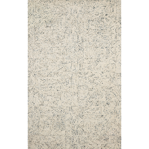 Peregrine Light Blue Hand Tufted Rug