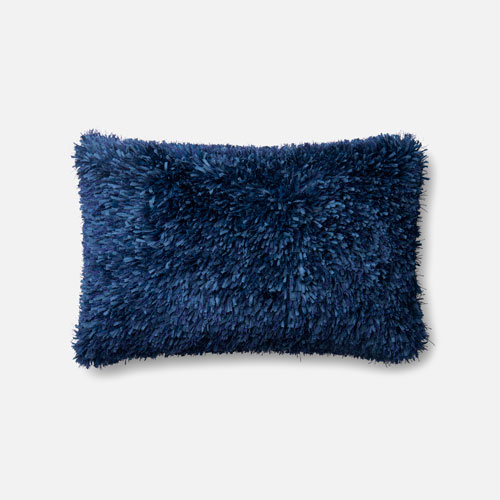 Loloi Navy 13 x 21 In. Pillow with Poly Fill