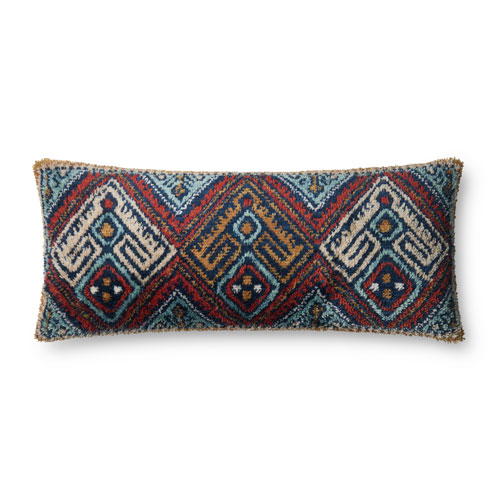 Loloi Multicolor 13 x 35 In. Pillow with Poly Fill