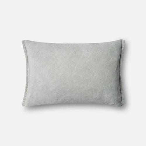 Seafoam Green 13 x 21 In. Pillow with Poly Fill