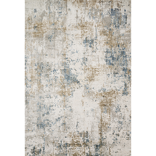 Sienne Ivory and Gold Runner: 2 Ft. 7 In. x 8 Ft. Rug