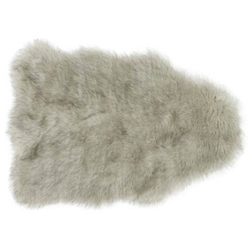 Yukon Silver and Gray Shag Rectangular: 2 Ft. x 3 Ft. Area Rug