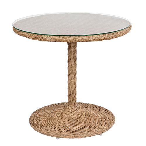 Barlow Bronzed Teak Round Bistro Table