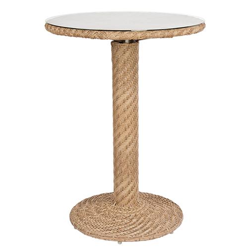 Barlow Bronzed Teak Bar Height Table