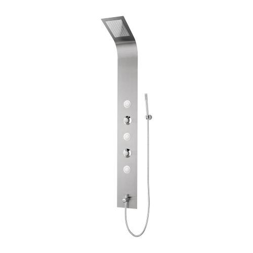 Boann Brushed Stainless Steel LED Mount Shower Panel