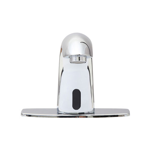 Trinidad Polished Chrome Motion Sensor Surface Mount Bathroom Faucet