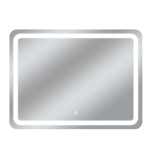 Egret Tri-Color Rectangular Silver 48-Inch LED Bathroom Mirror
