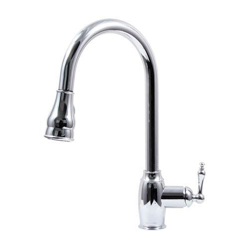 Dyconn Coronado Polished Chrome Low Lead Kitchen Faucet