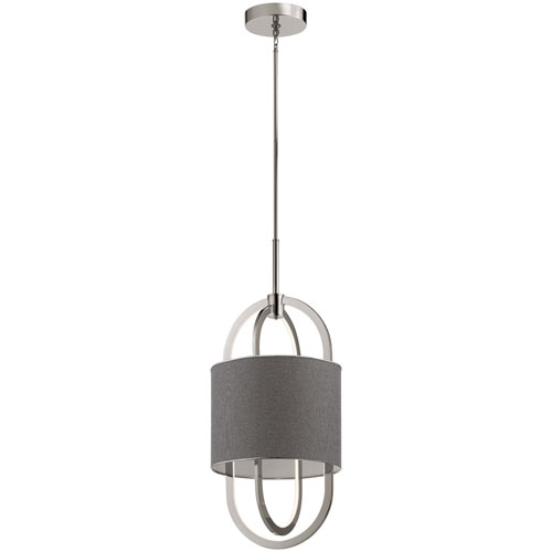 Jolana Polished Nickel LED Pendant