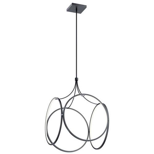 Ciri Matte Black LED Pendant