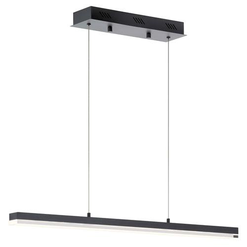 Gorve Matte Black Five-Inch LED Mini Chandelier