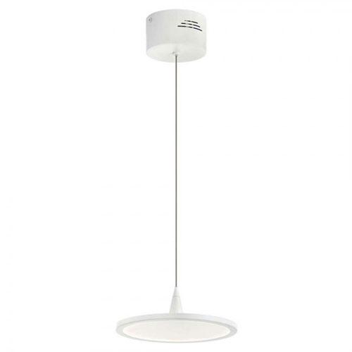 Jeno White Four-Inch LED Mini Pendant