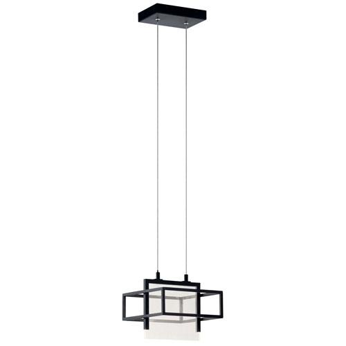 Vega Matte Black LED Mini Pendant