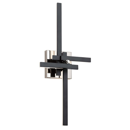 Charter Matte Black  LED Wall Sconce