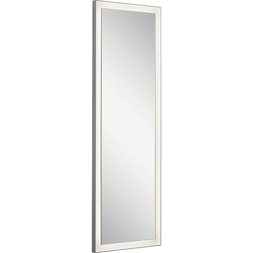 Ryame Silver Matte LED Lighted Mirror